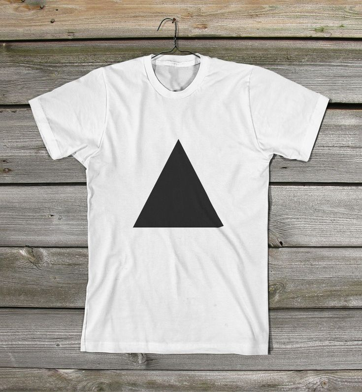 Triangle t-shirt by Akzidents