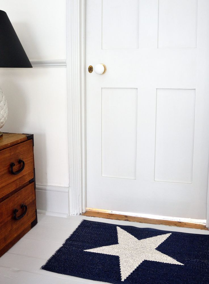 Pappelina Viggo Star Entrance/Door Mat 70x50 cm available at Loft