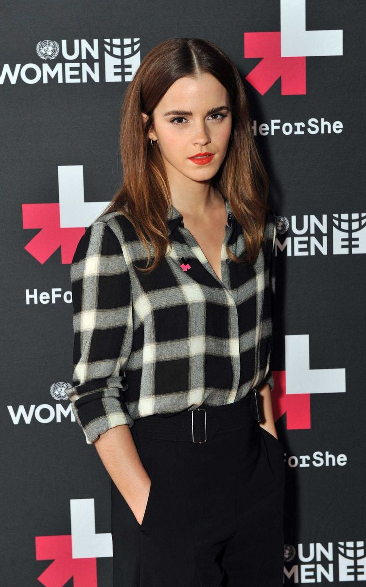 Emma Watson - HeForShe Facebook Q&A in London, March 2015: