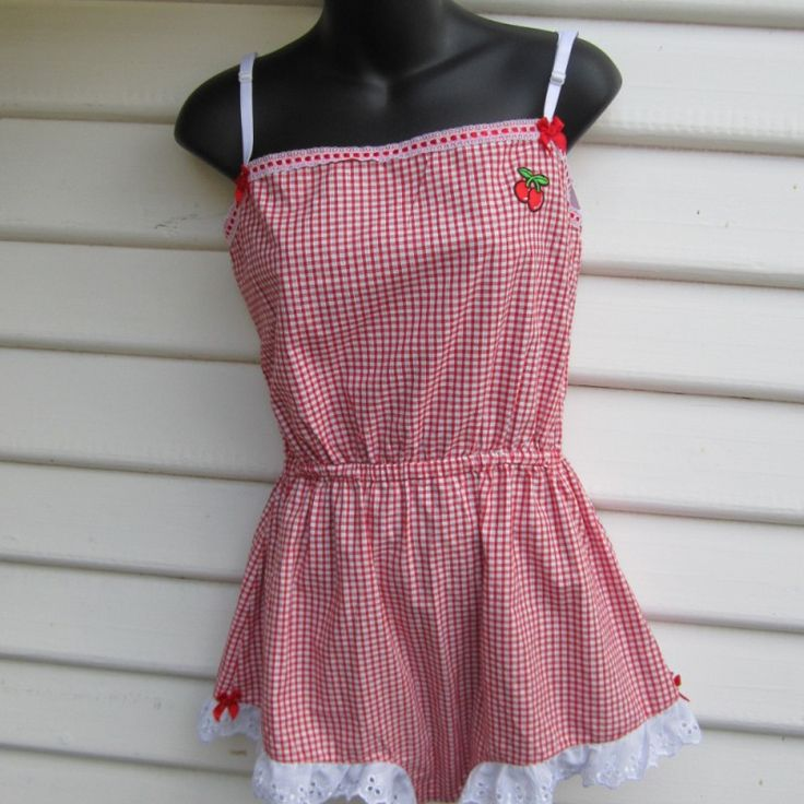 Miss Betty Cotton Playsuit Medium on Velvet Rose's Pin Up Dressing Room - The vintage shop tailored to you #Vintageinspiredplaysuit #ChristmasPresent Free Postage within Australia