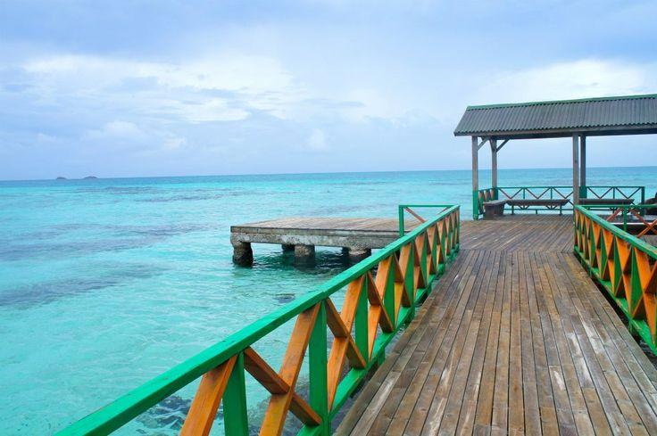 The Caribbean Sea in Providencia