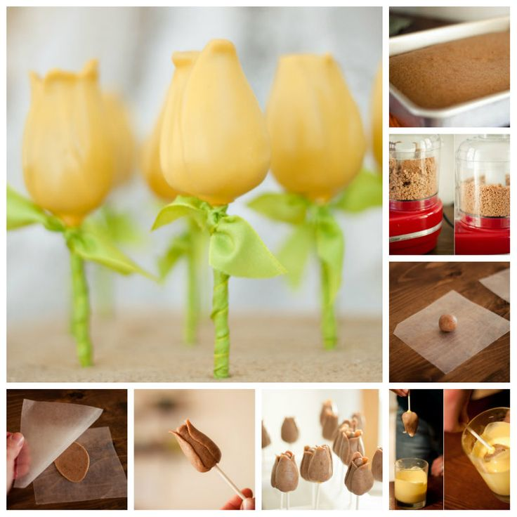 How To Make Tulip Cake Pops