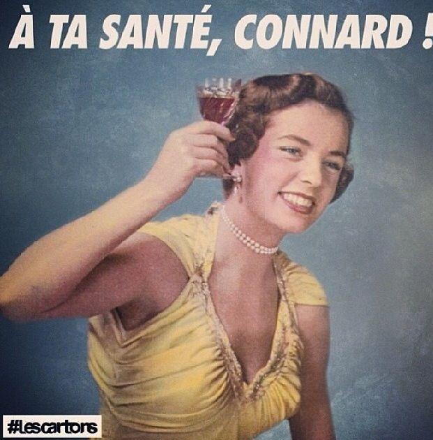 À ta santé connard #lescartons