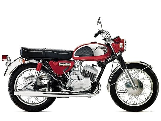 Kawasaki 350-A7 Avenger (1967)