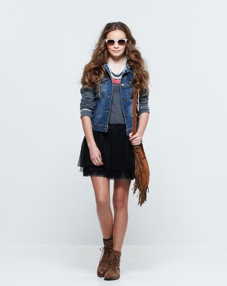 Pavement United Brands - Liv jacket + Melody Dress + Layered Beads necklace + tassle patch bag