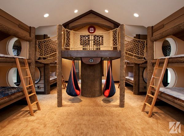 30 Beautiful Bunk Room Ideas for Kids