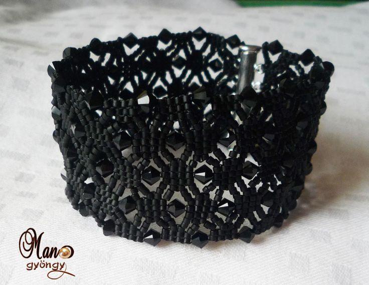 Neat bracelet with schema #Seed #Bead #Tutorials