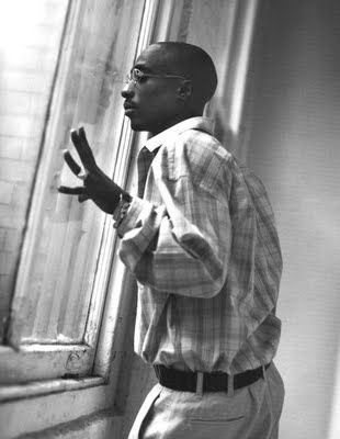 Not enough people understand that Mr.Shakur was on the verge of a revolution. Thug Life was not about gang banging and badassery, it wasn't about bloodshed and pushing bricks. It was about organization and the process of making thugs into soldiers. At 16 as one of the youngest youth leaders of the black panther movement, Mr.Shakur had the scent of change and politics in his blood.