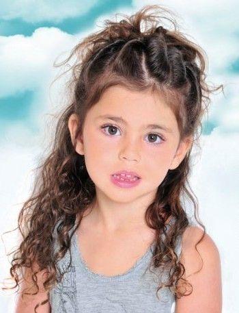 Frisur für Kinder Mädchen