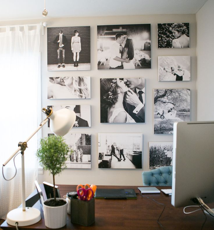 Took all the inspiration and ideas from this pinterest board and made my dream office a reality! :) My desk is Konrad from World Market
