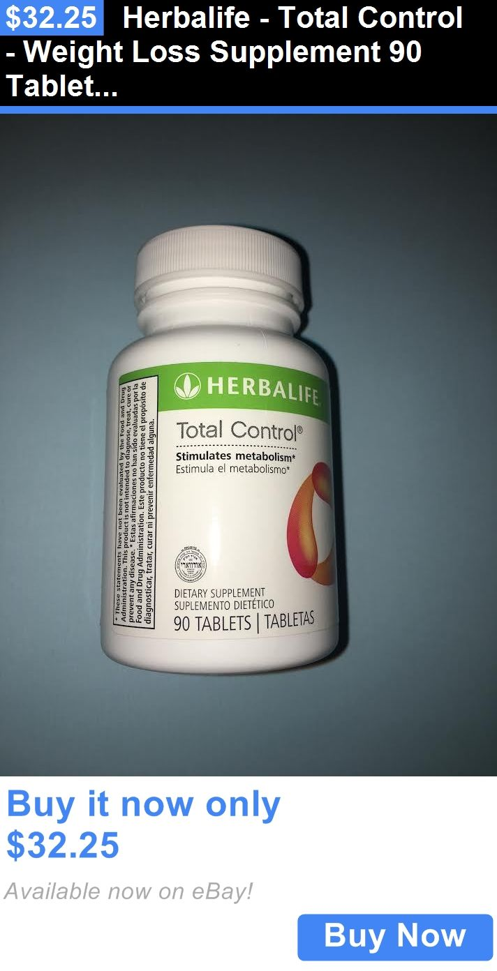 Weight Loss: Herbalife - Total Control - Weight Loss Supplement 90 Tablets BUY IT NOW ONLY: $32.25 #weightloss