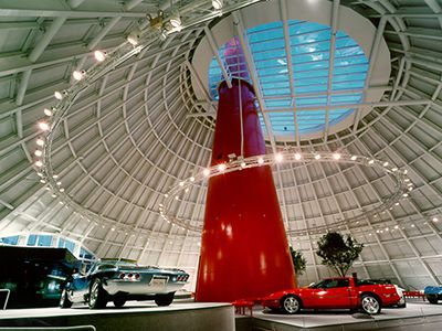 National Corvette Museum In Bowling Green Kentucky Is Home To The GM Assembly Plant Only Place World Chevrolet