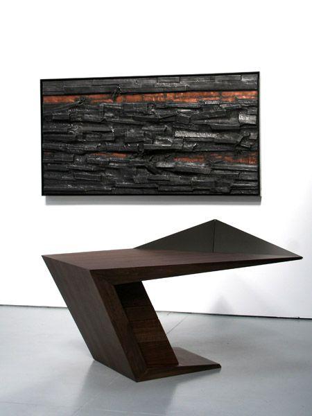 V Desk - Makemei Furniture - Bespoke design by Makemei - Furniture, Interiors, Architecture and Sourcing l London&Singapore