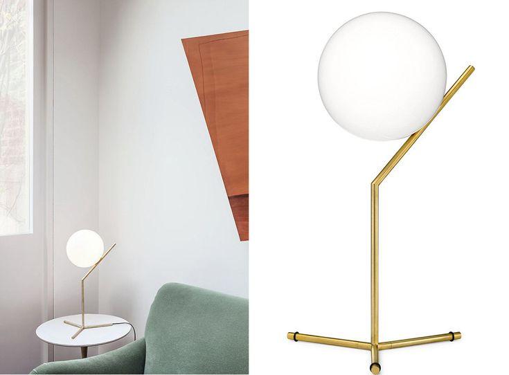 Top 5 Interior buys on AnneliBush.com: The Flos IC T1 Table Lamp. Shop it here: http://rstyle.me/n/bi8yesmtuw #Flos #FlosLighting #TableLamp #BrassLamp #ScandinavianDesign