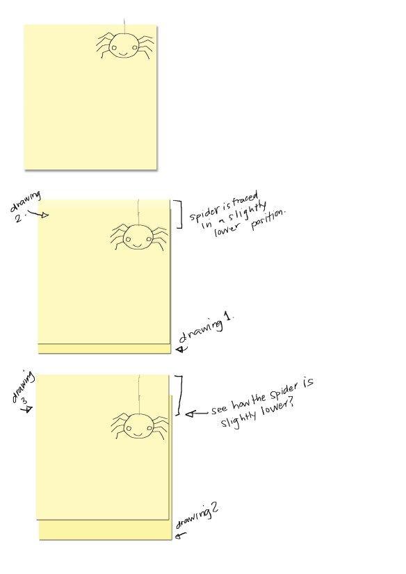 Easy flip book DIY