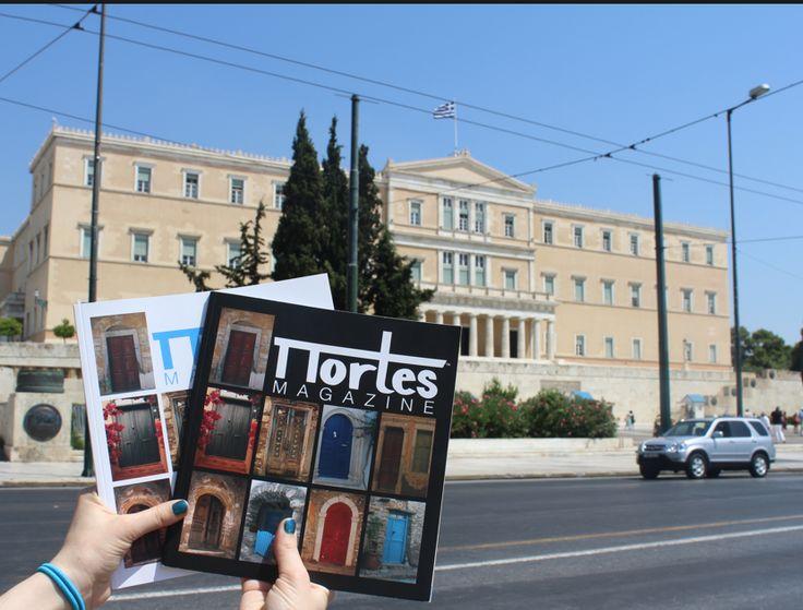 Portes at Syntagma!