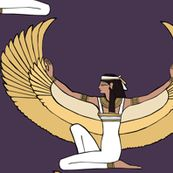 The goddess Isis by pond_ripple