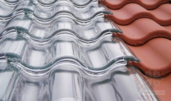 重庆玻璃琉璃瓦 重庆玻璃亮瓦 重庆玻璃水泥瓦_红福瓦业 玻璃琉璃瓦案例展示