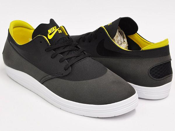 Nike lunar oneshot【ナイキ ルナ ワンショット】black / tour yellow|gettry