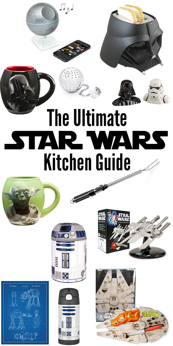 The Ultimate Star Wars Kitchen Guide #StarWars #TheForceAwakens
