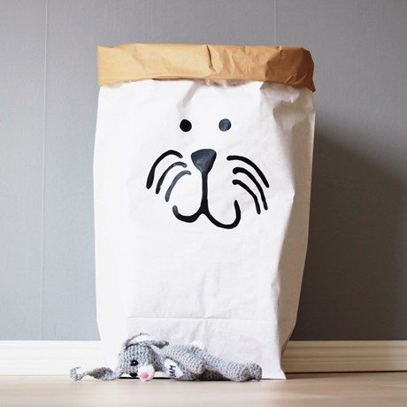 Dekorative papirposer til oppbevaring og innredning!