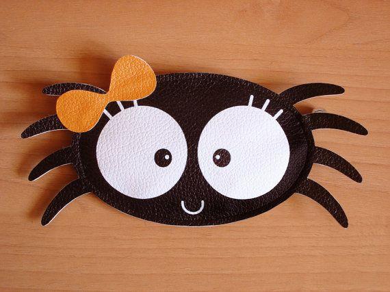 Pacha the Spider Purse Trick or Treat por lovelia en Etsy