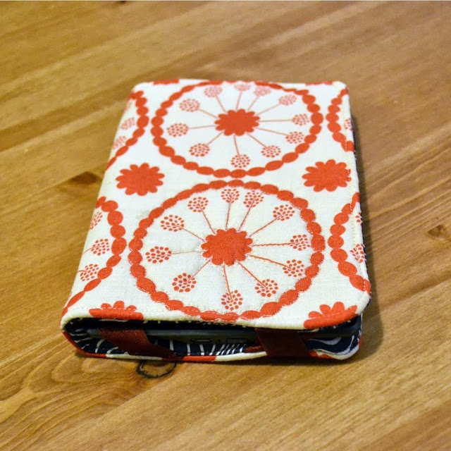 Quilted Kindle Case DIY