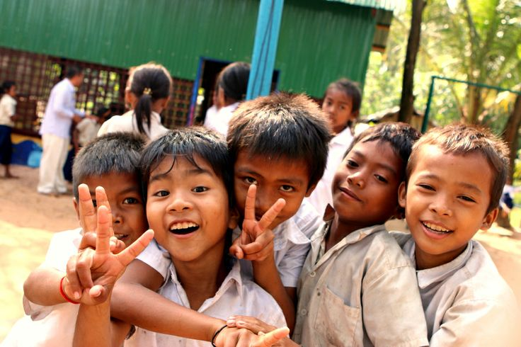 The boys are always excited #VietnamSchoolTours #havefun #little students