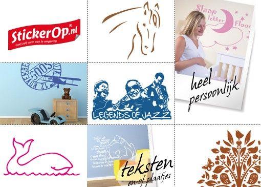 Een muursticker maakt een ruimte helemaal af. Of het nou om een kinderkamer, kantoorruimte of een winkelruimte gaat, StickerOp heeft altijd een passend ontwerp.