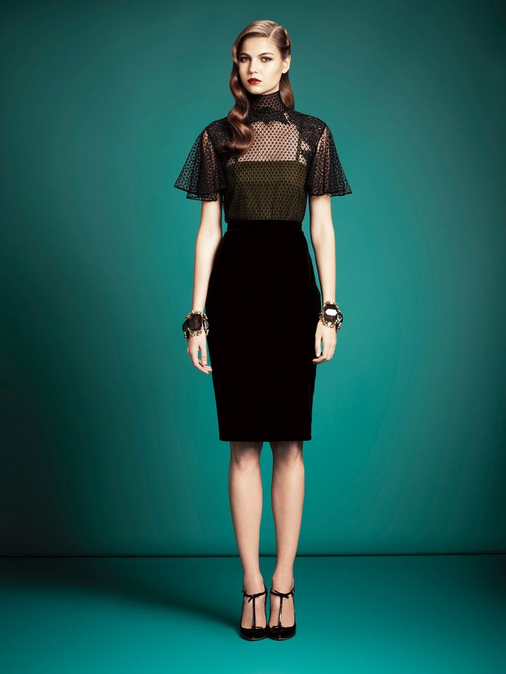 Gucci Pre-Fall 2013 - Review - Fashion Week - Runway, Fashion Shows and Collections - Vogue