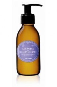 Huile de Massage Anti-Stress de Les Soins aux Fleurs de Bach : Fiche complète et boutiques en ligne pour bien choisir vos huiles corporelles.