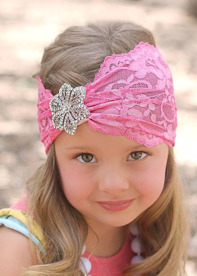Baerly Famous brooch headband Wildflower