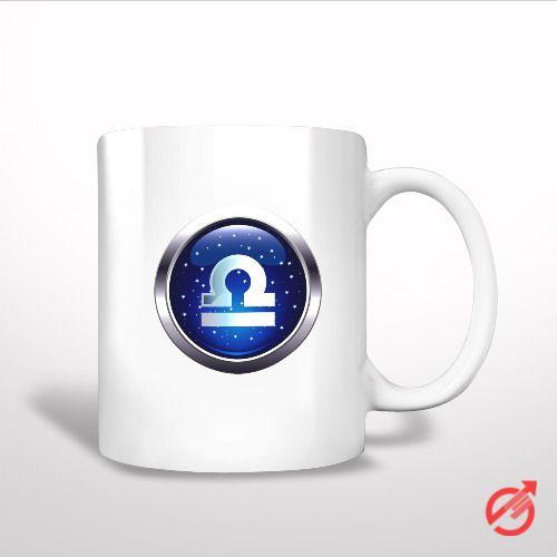 Sell Zodiac Libra White Mug cheap and best quality. *100% money back guarantee