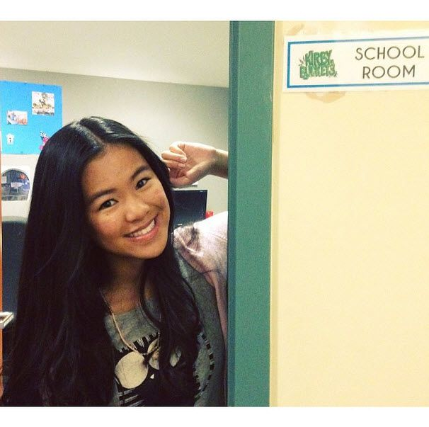 Photo: Tiffany Espensen Happy To Start Her Senior Year August 25, 2014