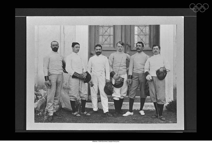 Athens 1896-The French Boxing team.