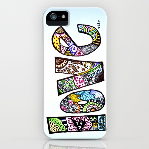 love is all you need iPhone Case. $35.