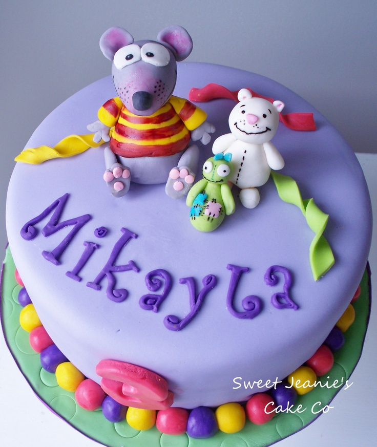 Toopy and Binoo cake for a friend
