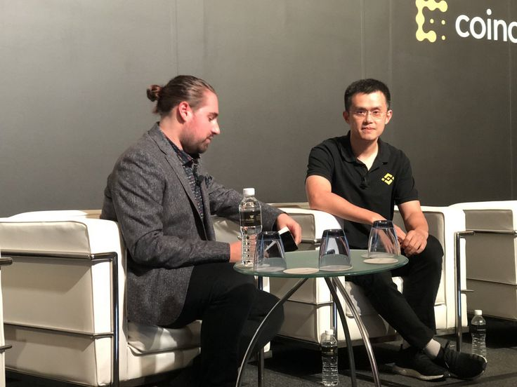 CryptoCurrency Binance CEO and founder Zhao Changpeng