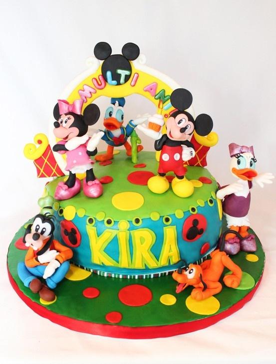 70 best mickey minnie cake images on Pinterest Minnie cake