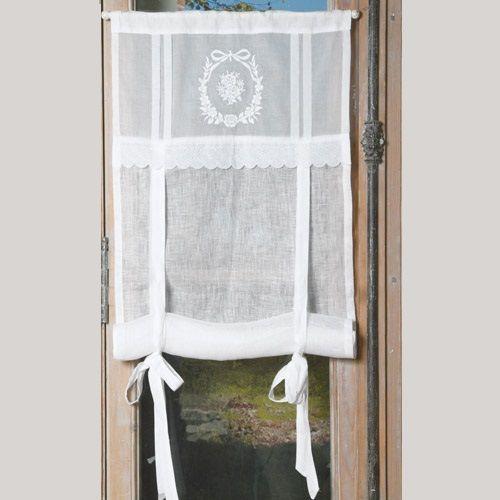 169 best images about brises bise stores rideaux on pinterest sweet hom - Rideaux style cottage ...
