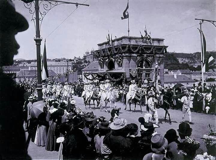 1896 Margit Híd budai hídfő