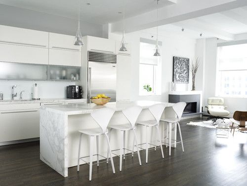 modern kitchen by Chelsea Atelier Architect, PC
