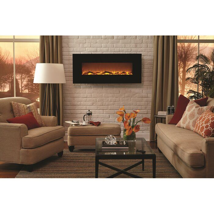 Lauderhill Wall Mounted Electric Fireplace Wall Mounted Fireplace Wall Mount Electric Fireplace Indoor Electric Fireplace