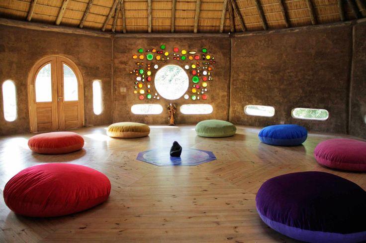 Octógono de Agó, a place where art, evolution and spirituality flows together with nature.  Punta del Este, Uruguay