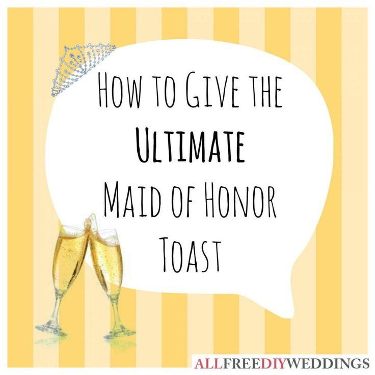 The 25+ best Bridesmaid Speech Examples ideas on Pinterest ...