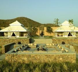 Tents at Aman-i-Khas, Rajasthan, India