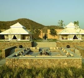 Tents at Aman-i-Khas, Rajasthan, India