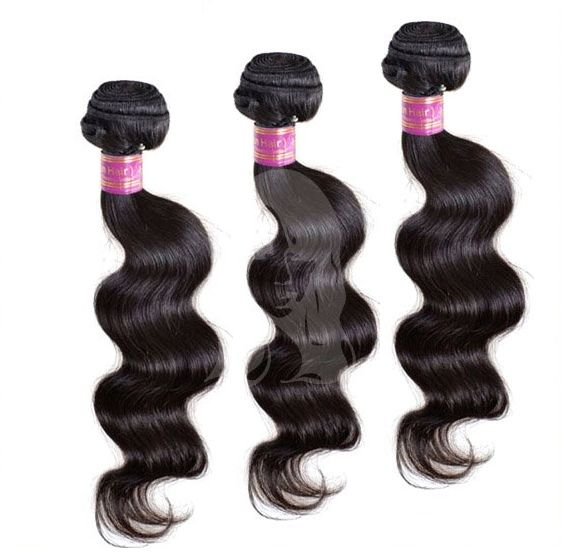 Tissages péruviens ondulés par lot de 3 paquets. Du 12 au 34 pouces. Tissages péruviens. 100% cheveux humains de qualité Remy Hair.  Tissages ondulés. Livraison gratuite.