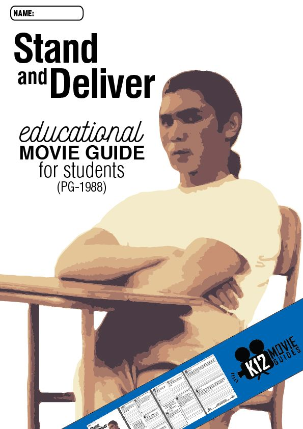 If you liked the Freedom Writers movie guide, you'll love this classic Stand and Deliver movie guide about an inspirational teacher in East Los Angeles.