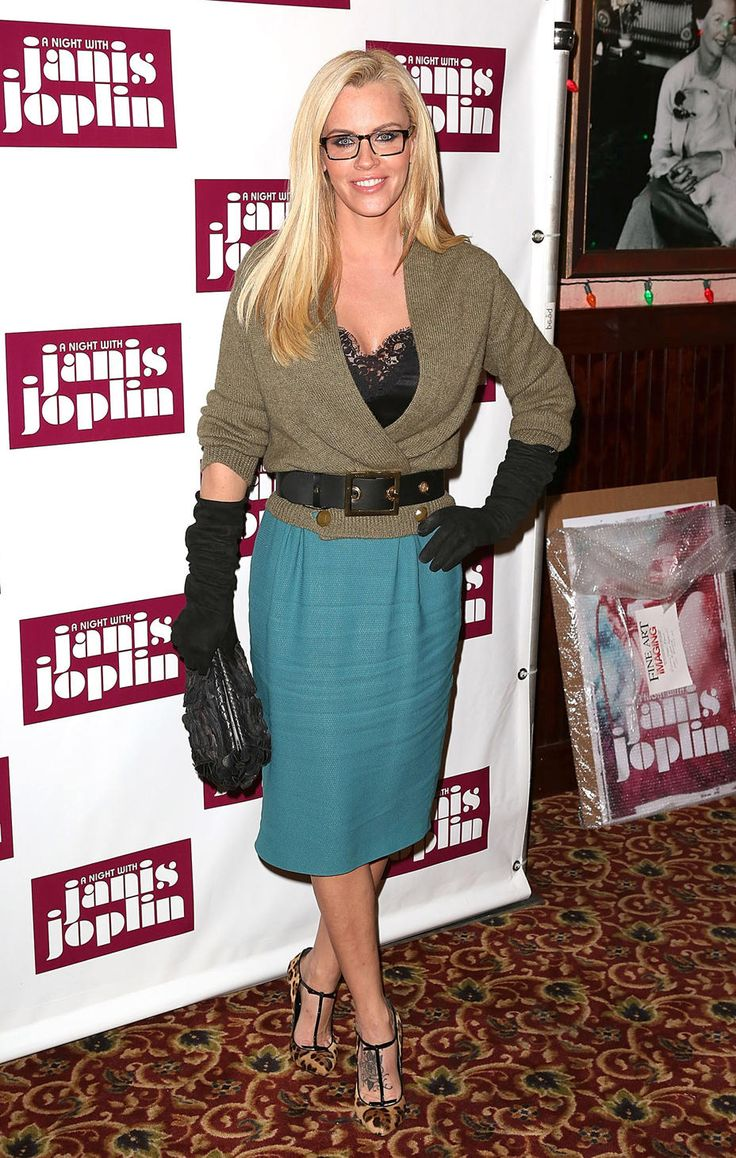 """Jenny McCarthy -- """"The View"""" recently denied a report claiming that Barbara Walters wasn't pleased with the newest member of her talk show, Jenny McCarthy, but nobody (from Babs to the former Playboy model's biggest fans) can deny the hideousness of this Gucci getup. The 40-year-old sported the eyesore — complete with a lacy camisole, burlap sack-like sweater, mismatched skirt, and clunky suede gloves — to a Broadway opening night afterparty in NYC earlier this week. What do"""